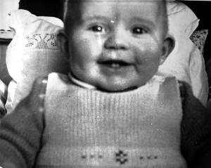 Jan Erik, et av de første bildene.