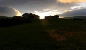 Nystuvollen er den innersta setra i Såttåhaugen, like ved grensa til Forollhogna nasjonalpark.