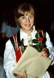 Annikki Torgersen ferdig utdannet sykepleier.