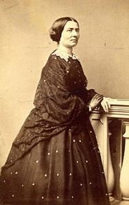 Aasta Hansteen, portrett tatt i1863. Kilde: Wikipedia.org