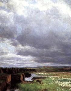 Torvmyr, malt av Kitty Kielland. Kilde: wikimedia common