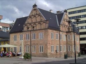 Christiania, nå Oslo kunstforening, i Rådmannsgården, Rådhusgata 19, Osl o. Oslo. Kilde: Wikimedia common