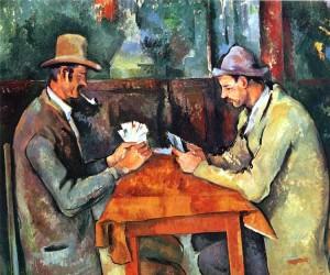 Kortspillere, PaulCézanne 1892-95. (Kilde: Wikimedia common)s