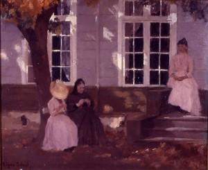 Skrivergården, Undesløs på Toten, 1888. Kilde: oa.no