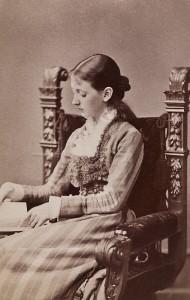Asta Nørregård 1876. Foto: Friedrich Müller. Kilde: Oslobilder