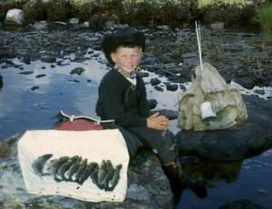 Jan Erik Øvergård, fisketur.