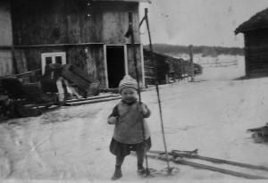 Ola O Øvergård, far til Jan Erik, fra tidlig 1930-tallet.