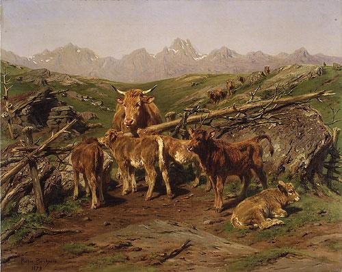 fjellet i norsk malerkunst