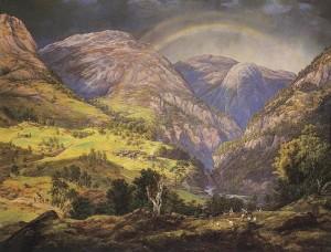 Stalheim av J.C. Dahl