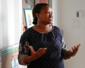 Hun kjemper for et verdig liv for kvinner rammet av HIV/AIDS.
